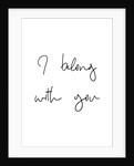 I belong with you by Joumari
