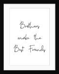 Brothers make best friends by Joumari
