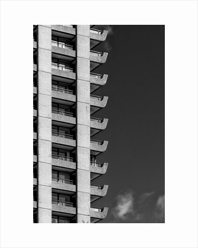 Brutalist Barbican Estate 05 by Joas Souza