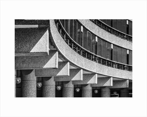 Brutalist Barbican Estate 09 by Joas Souza