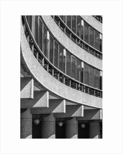 Brutalist Barbican Estate 10 by Joas Souza