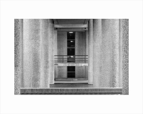 Brutalist Barbican Estate 18 by Joas Souza