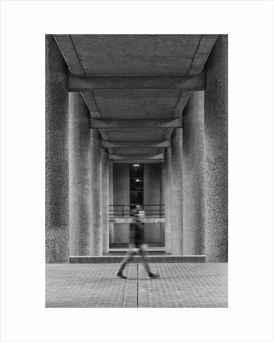 Brutalist Barbican Estate 20 by Joas Souza