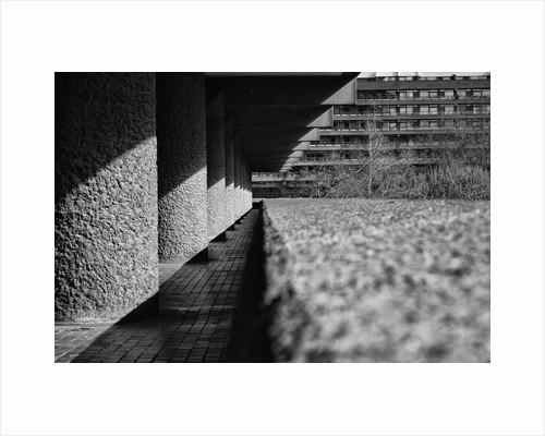 Brutalist Barbican Estate 22 by Joas Souza