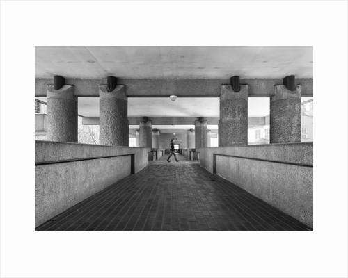 Brutalist Barbican Estate 24 by Joas Souza