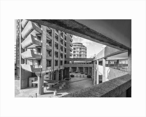 Brutalist Barbican Estate 30 by Joas Souza