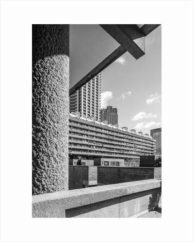 Brutalist Barbican Estate 31 by Joas Souza