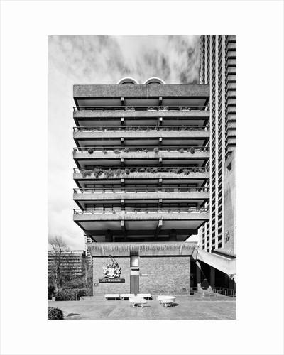 Brutalist Barbican Estate 32 by Joas Souza