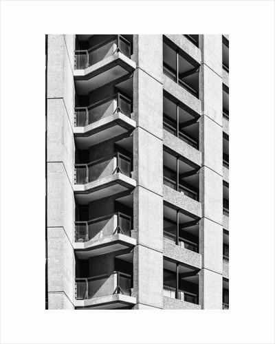 Brutalist Barbican Estate 40 by Joas Souza