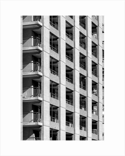 Brutalist Barbican Estate 42 by Joas Souza