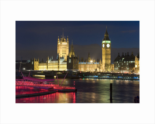 Lights of Parliament by Joas Souza