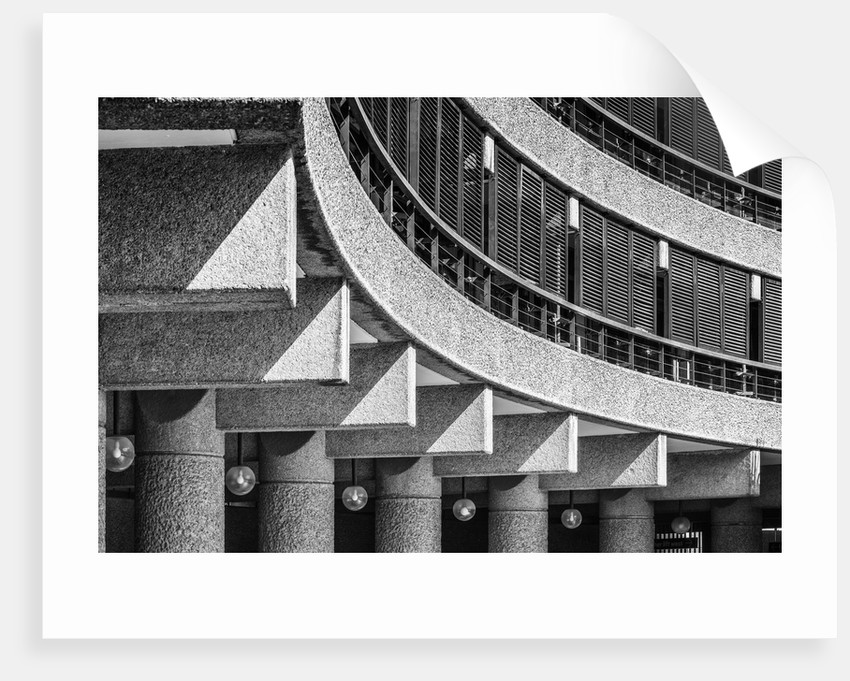 Brutalist Barbican Estate 09 by Joas Souza