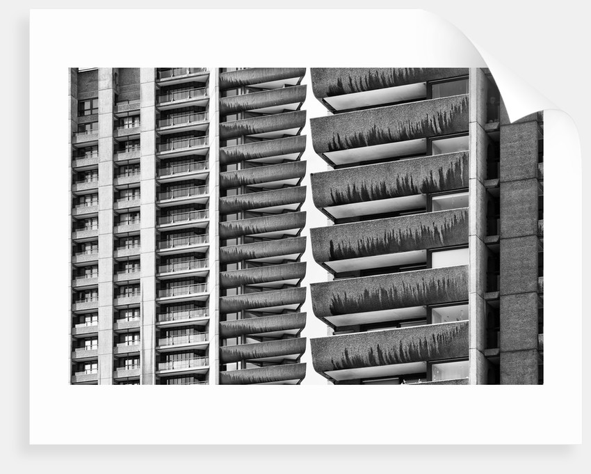 Brutalist Barbican Estate 14 by Joas Souza