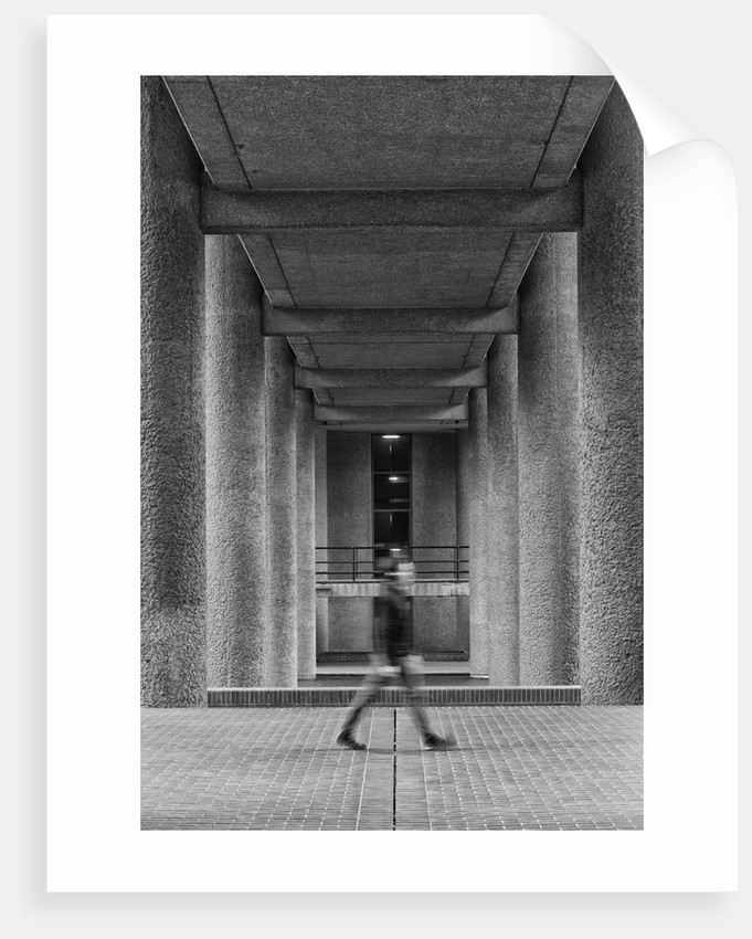 Brutalist Barbican Estate 20 by Joas Souza