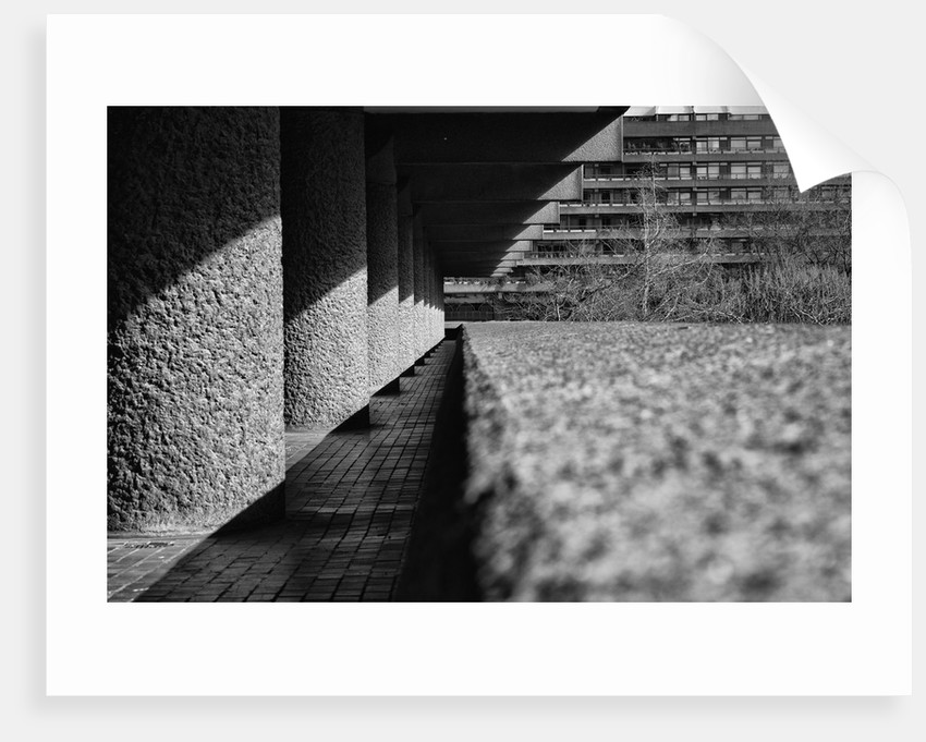 Brutalist Barbican Estate 22 by Joas Souza