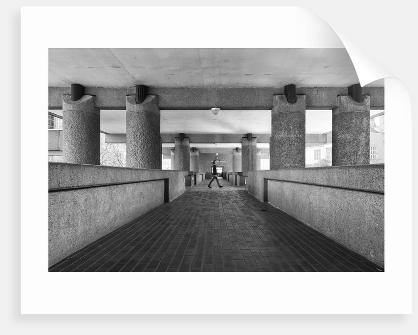Brutalist Barbican Estate 24 by Joas Souza