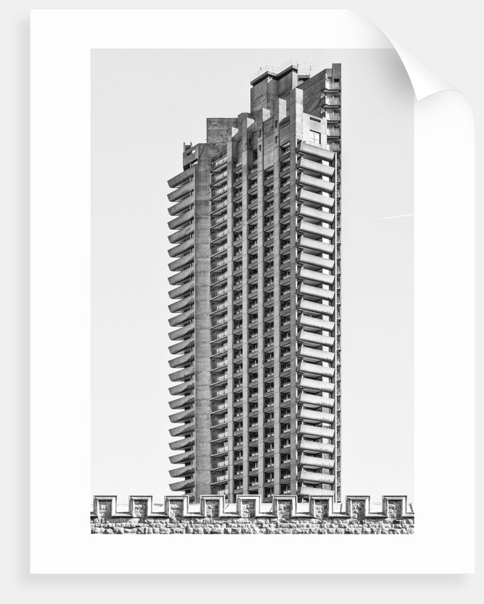 Brutalist Barbican Estate 29 by Joas Souza