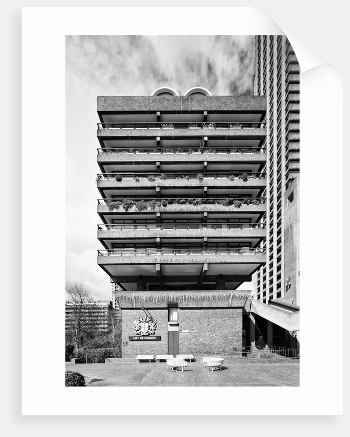 Brutalist Barbican Estate 32 by Joas Souza