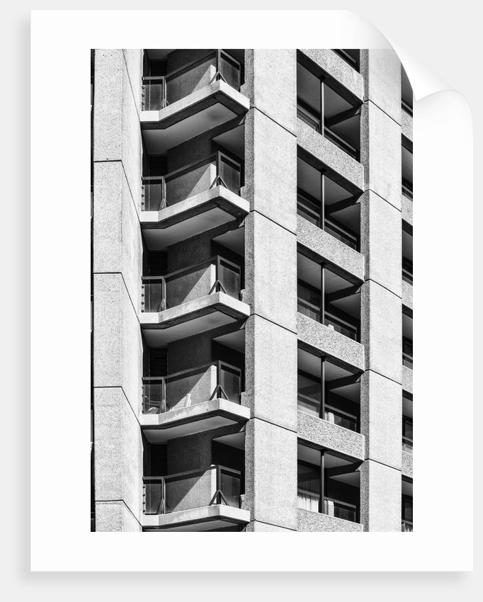 Brutalist Barbican Estate 40 by Joas Souza