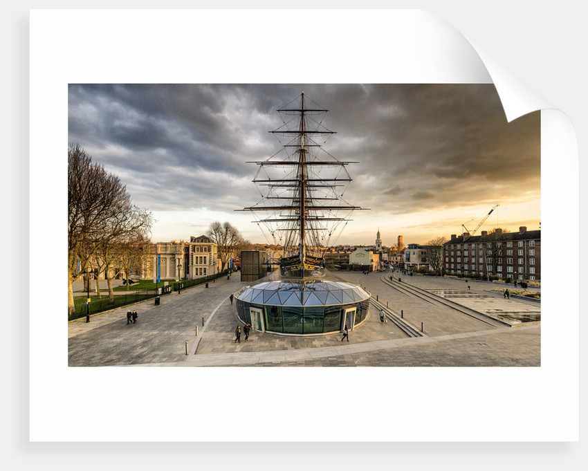 Cutty Sark and the storm by Joas Souza