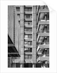 Brutalist Barbican Estate 12 by Joas Souza