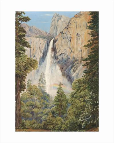 196. Rainbow over the Bridal Veil Fall, Yosemite, California by Marianne North