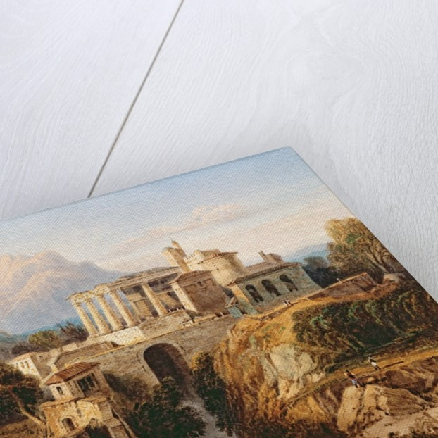 A Grecian Temple by William Crouch