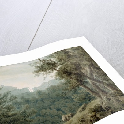 Arriccia near Albano by John Robert Cozens