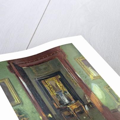 Interior, Rutland Lodge: vista through open doors, 1920 by Patrick William Adam
