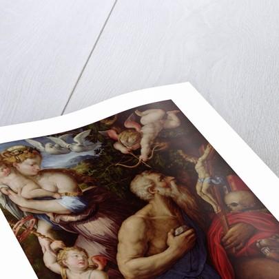 The Temptation of St. Jerome by Giorgio Vasari