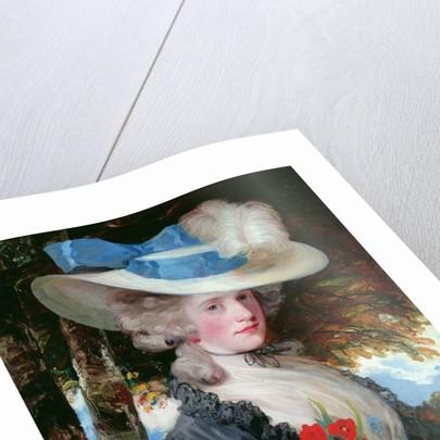 Portrait of The Hon. Mrs Hugo Meynell by John Hoppner