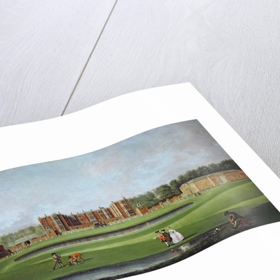 View of Temple Newsam House, c.1750 by James Chapman