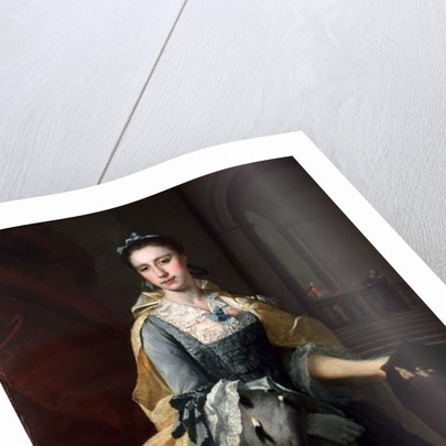 Portrait of Catherine Havers by Barthelemy Du Pan