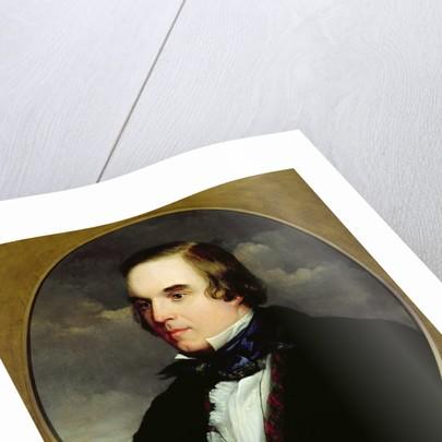 Portrait of George Linley by Charles Henry Schwanfelder