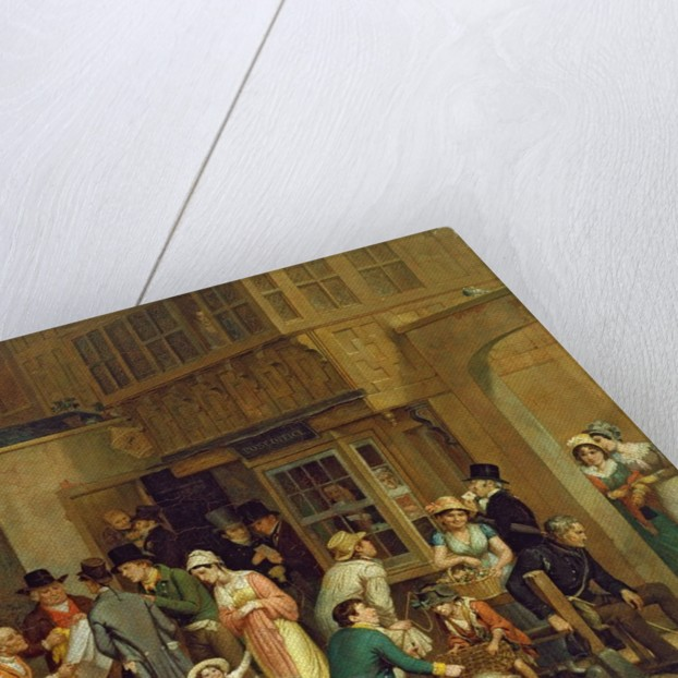 The Post Office by Edward Villiers Rippingille