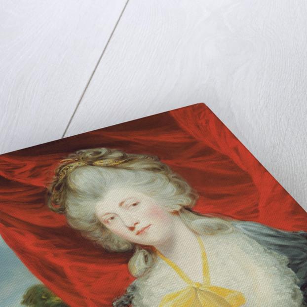 Portrait of the Hon. Isabella Ingram, later Marchioness of Hertford by John Hoppner