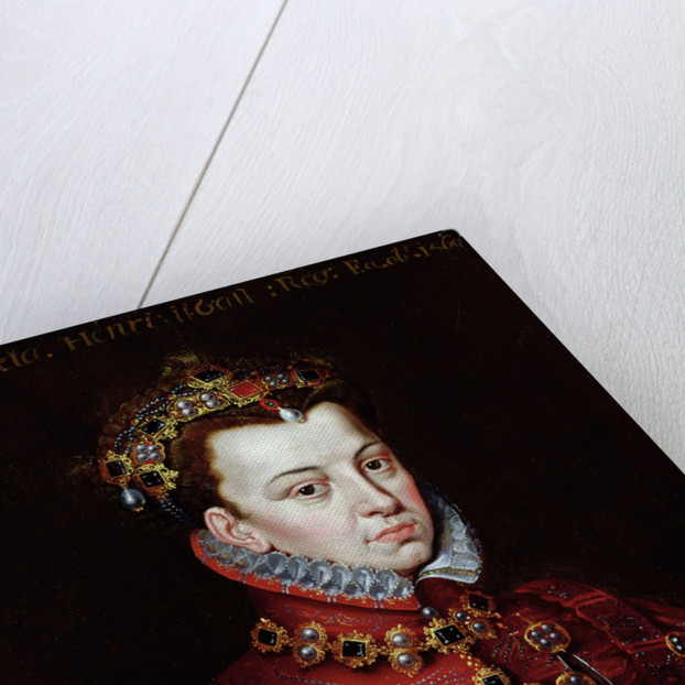 Portrait of Elizabeth de Valois by Alonso Sanchez Coello