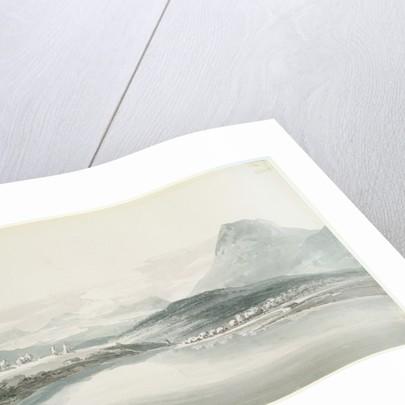 Lake of Klontal, after John Robert Cozens by Joseph Mallord William Turner