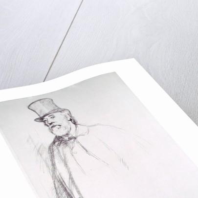 Portrait of Professor Alphonse Legros by Sir William Rothenstein