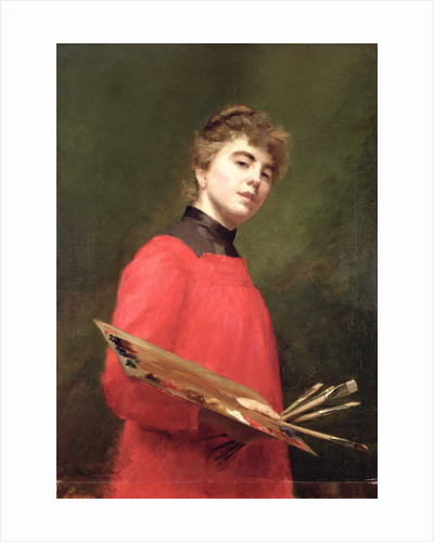 Self Portrait, 1889 by Emily Childers