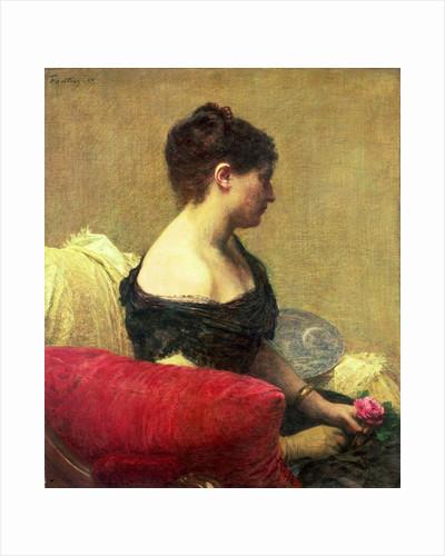 Portrait of Madame Maitre by Ignace Henri Jean Fantin-Latour