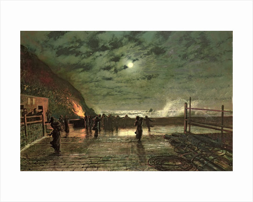 In Peril by John Atkinson Grimshaw