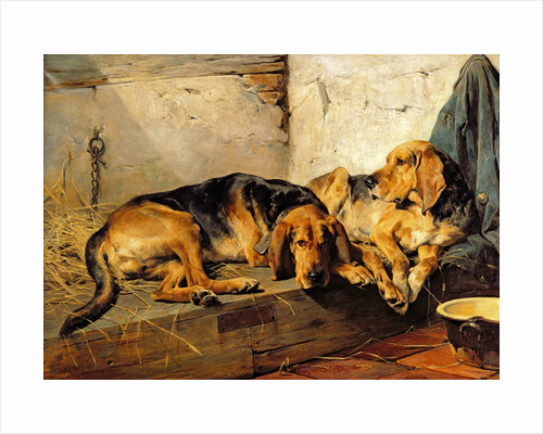 Lazy Moments, 1878 by John Sargent Noble