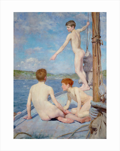 The Bathers, 1889 by Henry Scott Tuke