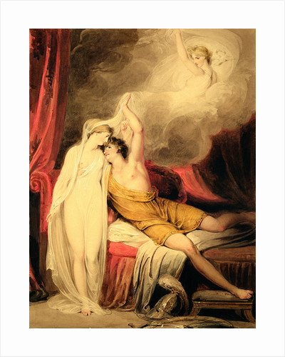 The Reconciliation of Paris and Helen by Richard Westall