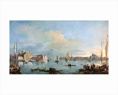 San Giorgio Maggiore by Francesco Guardi