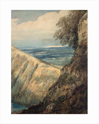 Coast of Dorset, near Lulworth Cove, 1797 by Thomas Girtin