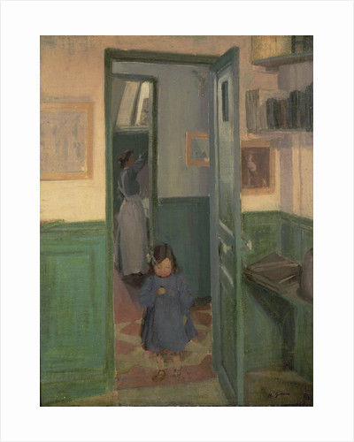 In Sickert's House, 1907 by Harold Gilman