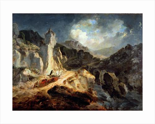Phaeton in a Thunderstorm, 1798 by Julius Caesar Ibbetson