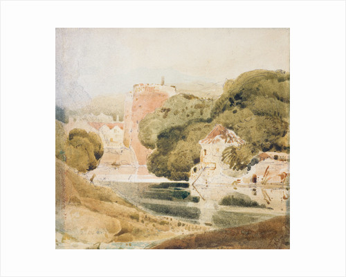 The Water Gate, York by John Sell Cotman
